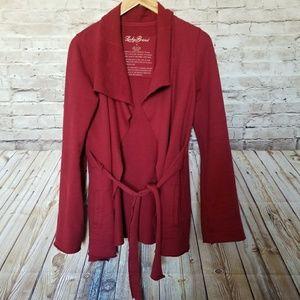 Lucky Brand Darcy Cardigan Wrap Jacket Small